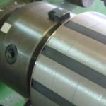 rotor aimant avant frettage ferroviaire