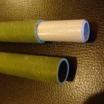 Tube de mat en verre epoxy